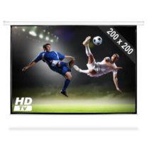 FrontStage PSAB-112, motorické premietacie plátno, HDTV, 200 x 200 cm, 1:1