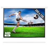 FrontStage PSAC-100, automaticky rolovateľné plátno pre domáce kino, projektor