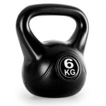 KLARFIT Kettlebell, guľové závažie, činka kettlebell, 6 kg