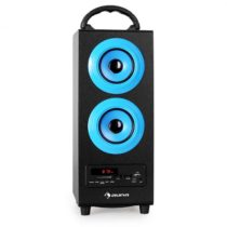 Auna Beachboy, 2.1 reproduktor, modrý, USB, SD, AUX, FM