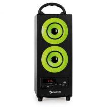 Auna Beachboy, 2.1 reproduktor, zelený, USB, SD, AUX, F