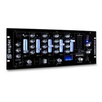 Skytec STM-3005REC, 4-kanálový DJ mixážny pult, USB, MP3, REC, EQ