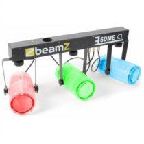 Beamz 3 Some CL, transparentná, sada LED svetelných efektov, 5-dielna, T-panel, 171 RGBW LED diód