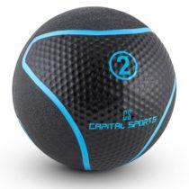 Capital Sports Medba 2, čierny, medicinbal 2kg guma