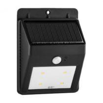 Lightcraft Solarlux, solárne vonkajšie svetlo, hlásič pohybu, 4 LED, studené biele, bezdrôtové