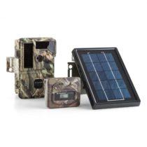 DURAMAXX Solar Grizzly, lovecký fotoaparát, sada, čierne LED diódy, HD, MP, solárny panel