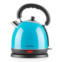 Klarstein Teatime, modrý, 1,8 l, 1850 W, varič vody, čajník, ušľachtilá oceľ