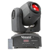 Beamz Panther 25 LED Spot Movinghead, 7 gobo vzorov, 7 farieb, diaľkový ovládač