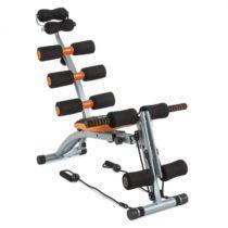 Capital Sports Sixish Core, oranžová/čierna, tréning brucha, tréning tela