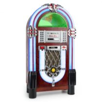 Auna Graceland TT, jukebox, bluetooth, phono, CD, USB, SD, MP3, AUX, FM