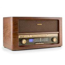 Auna Belle Epoque 1906, retro stereo systém, CD, USB, MP3, FM