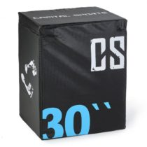 Capital Sports Rooko Soft Jump Box Plyo Box 76x61x51 cm čierna farba