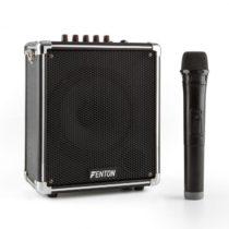 Fenton ST040, prenosný zvukový systém, bluetooth, USB, microSD, MP3, VHF, akumulátor
