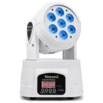 Beamz MHL-74, biela, otočná hlava, pohyblivá hlavica, Moving Head, 7 x 10 W, DMX, RGBW