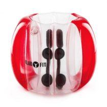 KLARFIT Bubball KR Bubble Ball detská 75x110cm EN71P PVCčervená
