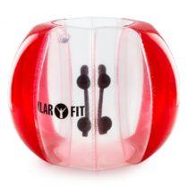 KLARFIT Bubball AR Bubble Ball pre dospelých 120x150cm EN71P PVC červená