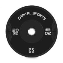 Capital Sports Elongate, bumper kotúč, závažie, guma, 20 kg