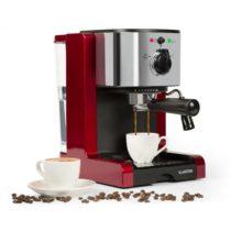 Klarstein Passionata Rossa 20, espresso kávovar, 20 barov, capuccino, mliečna pena, červený