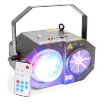 Beamz Sway 3-in1-LED Jellyball s laserom a LED-organom RGBW-LEDs 150mW-RG laser