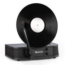 Auna Verticalo S, retro gramofón, vertikálny platňový tanier, USB, čierny