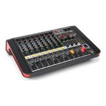 Power Dynamics PDM-M804A, mixážny pult, 8 mikrofónových vstupov, 24-bit multi-FX-procesor , USB preh...