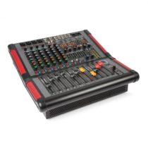 Power Dynamics PDM-S804A, 8-kanálový mixážny pult s integrovaným zosilňovačom (2 x 350 W RMS)