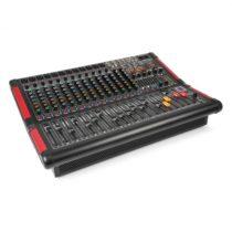 Power Dynamics PDM-S1604A, stage mixážny pult, 16-kanálový s integrovaným zosilňovačom (2 x 350 W RM...