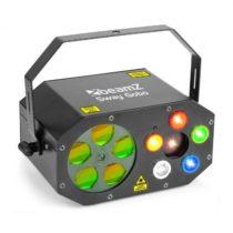 Beamz Sway Gobo Laser Gobo RGBWA, Strobe RGBWAa Laser RG, diaľkové ovládanie