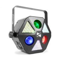 Beamz MadMan, LED reflektor, 132 RGB SMD LED svetiel, DMX alebo samostatný režim