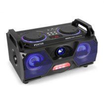 "Fenton MDJ115, mediálny prehrávač, USB, SD, BT, AUX, 120 W zosilňovač, 5,5"" woofer, RGB LED"