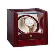 Klarstein Cannes, naťahovač na hodinky, 1 hodinky, palisandrový vzhľad