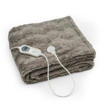 Klarstein Dr. Watson Comfort & Style, vyhrievacia deka, 120 W, 180 x 130 cm, umelá kožušina,...