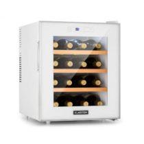 Klarstein Reserva 16 Blanco, vinotéka, 16 fliaš / 48 l, LED displej, biela