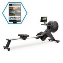 Capital Sports Stream M2, magnetický veslársky trenažér, LCD displej, 16 úrovní, hliník