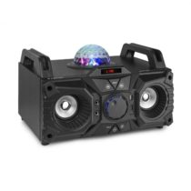 Fenton KAR100, sing station, 100 W, akumulátor, USB, bluetooth, AUX vstup, čierna