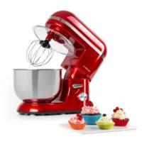 Klarstein Bella Elegance, kuchynský robot, 1300 W, 1,7 HP, 6 stupňov, 5 litrov, červený