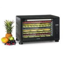 Klarstein Mega Jerky, autmatická sušička, 650W, 35-80°C, dotykový LCD displej, 8 poličiek, čierna