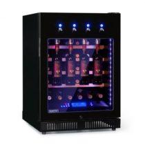 Klarstein First Class 36, chladnička na víno, 4 dispenser, 36 fliaš, 5-22°C, čierna