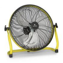 """Blumfeldt Wintergarden, podlahový ventilátor, 16"""", akumulátor, 43 W, USB, 45 dB, žltý"""
