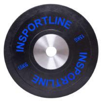 Gumový kotúč inSPORTline Bumper Plate 15 kg