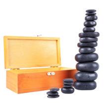 Lávové kamene inSPORTline Basalt Stone - 20 ks
