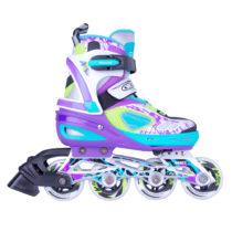 Nastaviteľné kolieskové korčule WORKER Fizzo