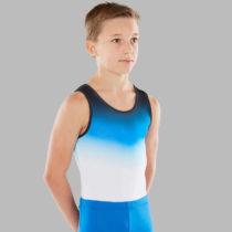 DOMYOS Pánsky Gymnastický Dres 500