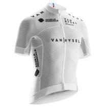 VAN RYSEL Sieťovinový Dres Racing Biely