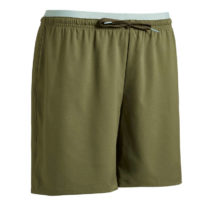 KIPSTA Dámske šortky F500 Zelené