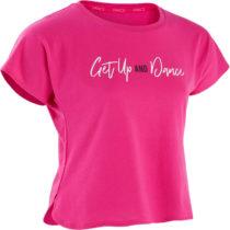 DOMYOS Dievčenské tričko na tanec