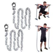 Vzpieračské reťaze inSPORTline Chainbos 2x15 kg