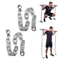 Vzpieračské reťaze inSPORTline Chainbos 2x20 kg