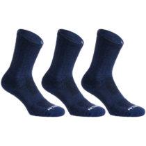 ARTENGO Ponožky Rs 500 Vysoké 3 Páry