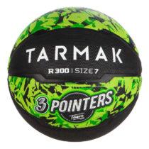 TARMAK Lopta R300 V7 čierno-zelená